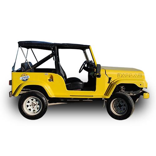 Jeep Dallas jaune