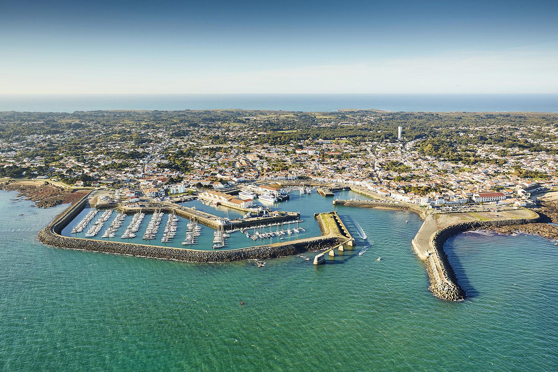 Le port de l'île d'yeu