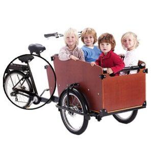 Vélo Cargo en enfants