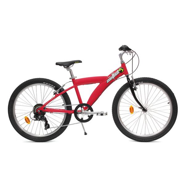 Vélo junior rouge à louer chez Autobecane.com